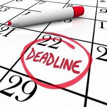 Les dates limites pour remplir le formulaire ESTA